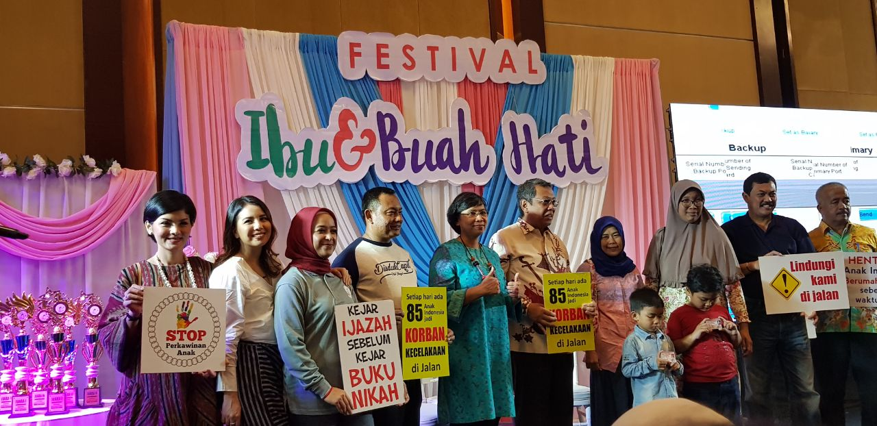 Festival Ibu dan Buah Hati 2018, Ajak Masyarakat Peduli Perempuan dan Hak Anak